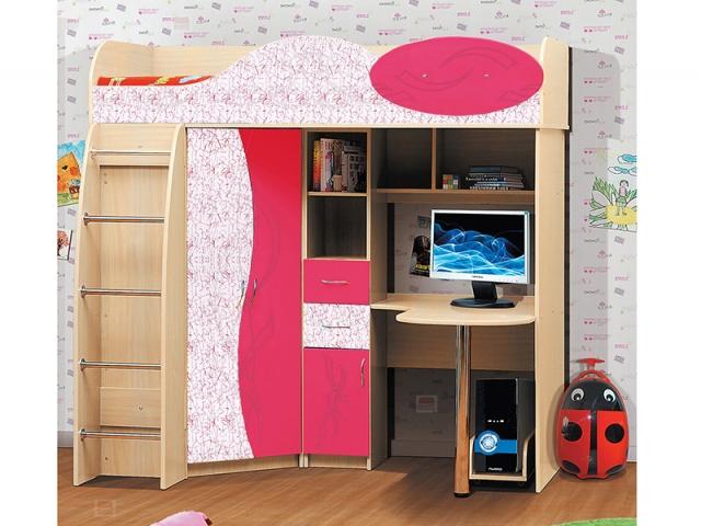 Кровать-чердак Малыш-3