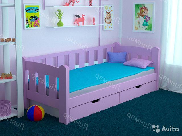 Детская комната с кроватью Легенда-2.1