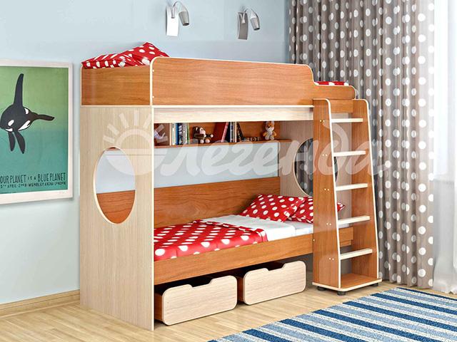 Двухъярусная кровать Легенда-7.1