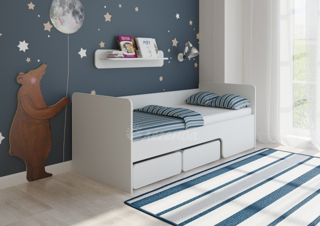 Кровать Легенда 40 белая