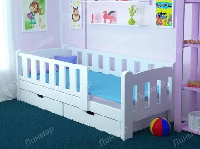 Кровать-софа с принтом