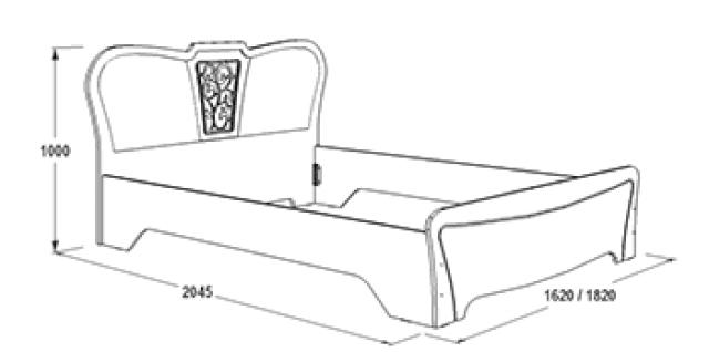Спальня Ольга-12 (МДФ)