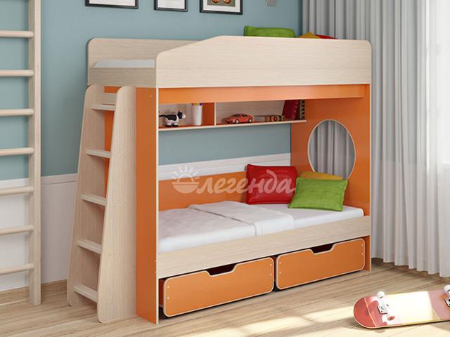 Двухъярусная кровать Легенда-10.2