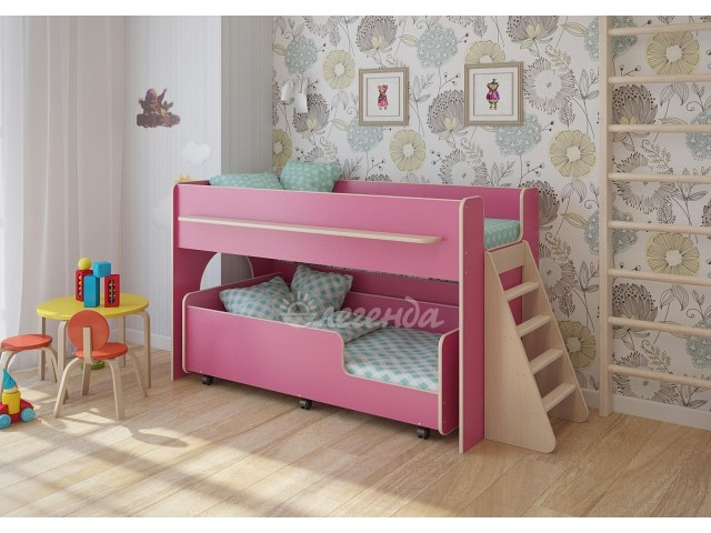Кровать Легенда 23.3     лайм/оранж/др. цвета