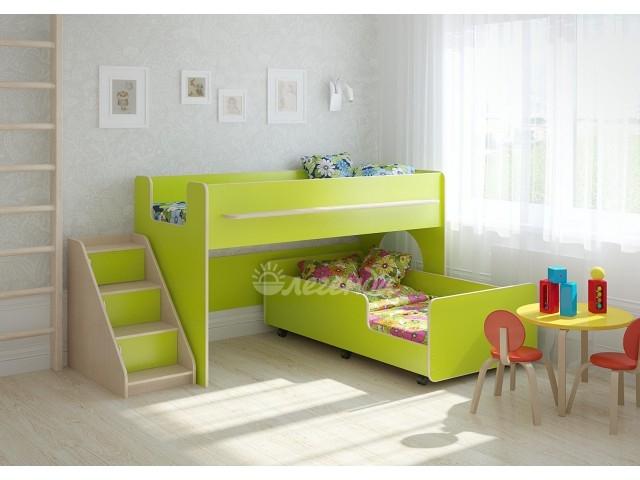 Кровать Легенда 23.4 розовая/голубая/др. цвета