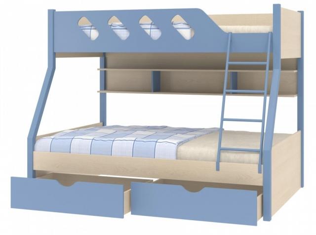 Двухъярусная кровать Дельта - 20.02 ДГ