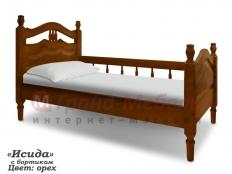 """Детская кровать """"Исида"""" с бортиком"""
