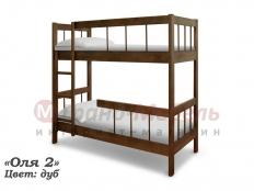 """Двухъярусная кровать """"Оля-2"""""""