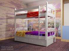 """Двухъярусная кровать """"Скаут-1"""""""