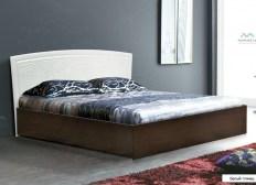 Кровать с подъемным механ. МДФ глянец