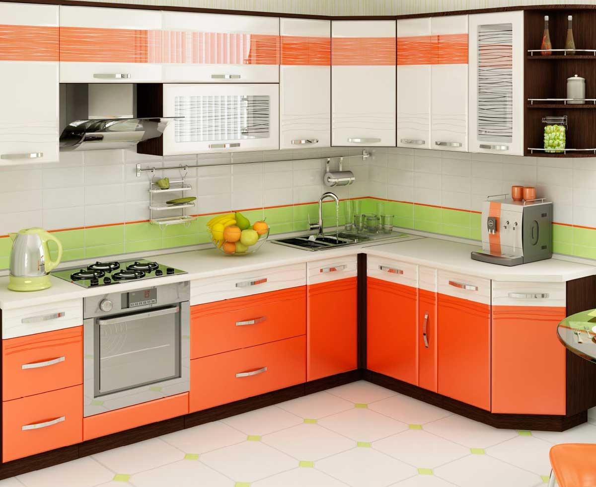 Дизайн кухонного гарнитура для кухни