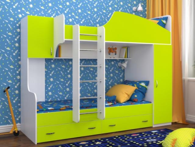 Двухъярусная кровать Юниор-2