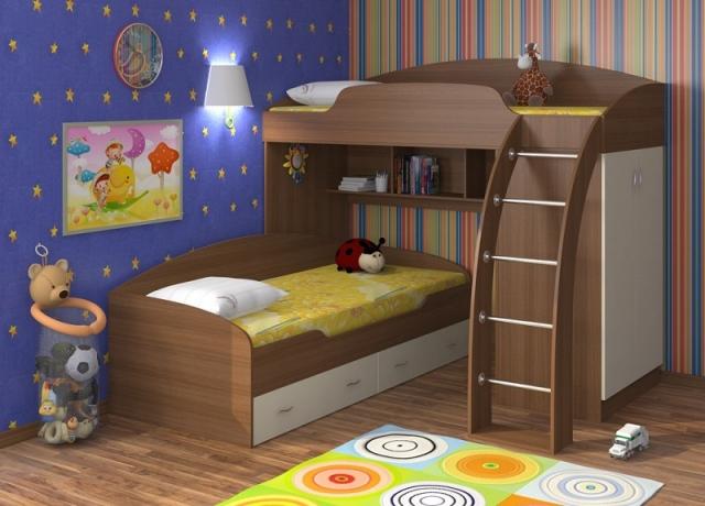 Двухъярусная кровать Соня 1+2