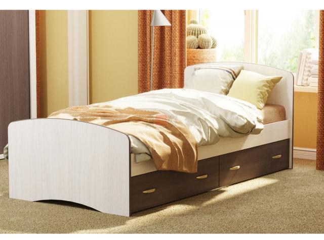 Кровать 6, ясень