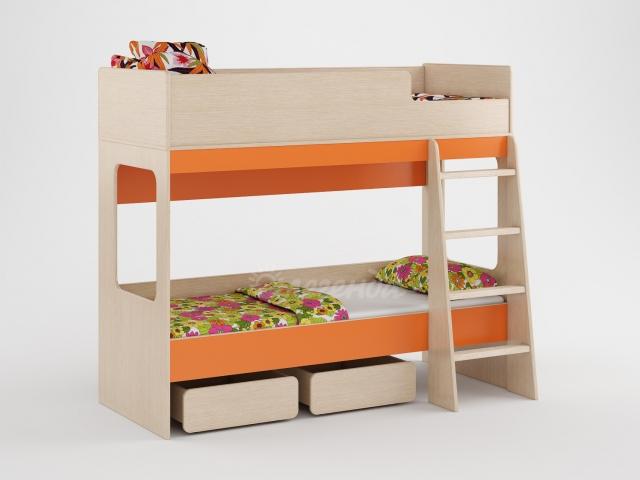 Двухъярусная кровать Легенда-38