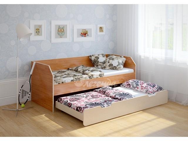 Детская выдвижная кровать Легенда-13.2