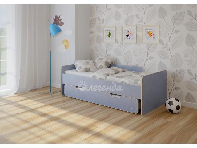 Выдвижная  кровать  Легенда 14.2, съемный бортик