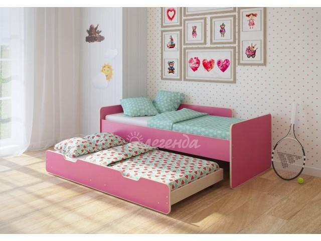 Детская выдвижная кровать Легенда-14.2