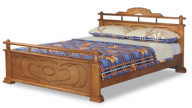"""Кровать """"Данко"""" массив сосны"""