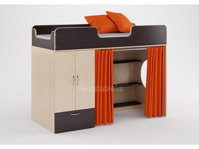 Кровать-чердак Легенда-3.1 со столом