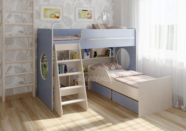 Двухъярусная кровать Легенда-26.2