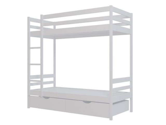 Двухъярусная кровать №1, массив сосны
