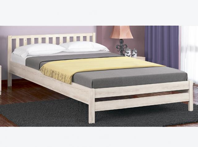 Кровать двуспальная Массив