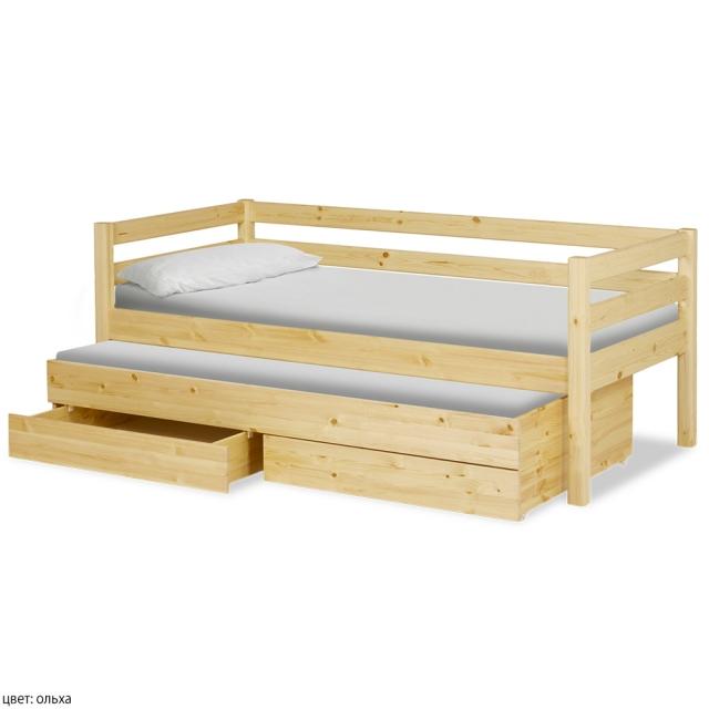 Кровать Олимп Массив