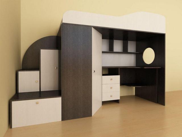 Кровать-чердак Кадет-1