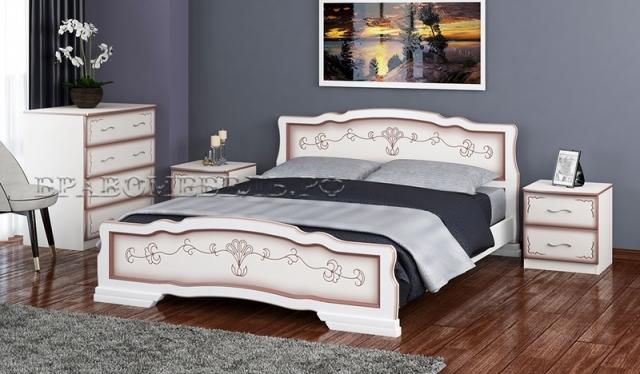 Кровать двуспальная Карина 6