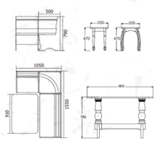Диван кухонный угловой-2