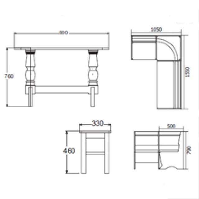 Диван кухонный угловой-1