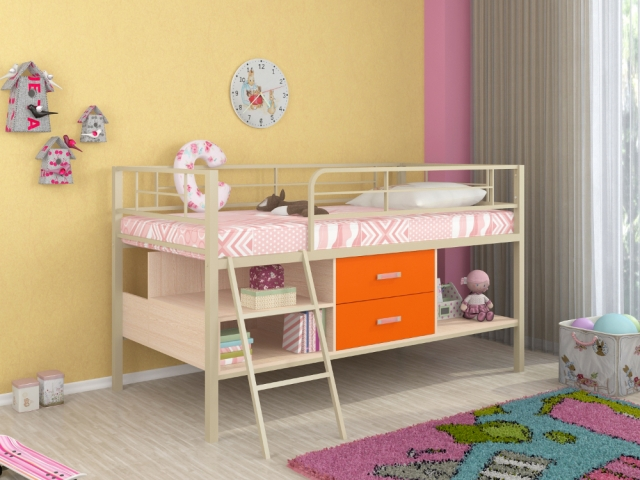 Кровать-чердак Севилья Мини Я