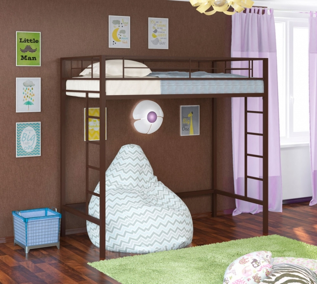 Кровать-чердак Севилья-1-1
