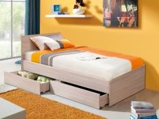Кровать одинарная универсальная