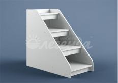 Лестница угловая ЛУ-02(Легенда 23) белая