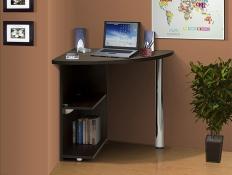 Стол для компьютера угловой Марибель - 2 ЛДСП