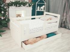 Кровать-манеж с ящиком
