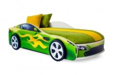 Бондмобиль зеленый + матрас