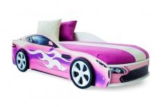 Бондмобиль розовый + матрас