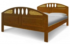 """Кровать """"Флоренция с резьбой"""" массив сосны"""