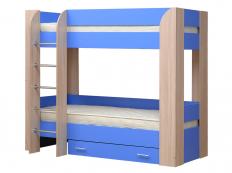 Кровать двухъярусная Юниор-6 (МФ Матрица)