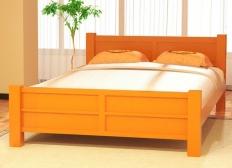 """Кровать """"Ассоль"""" массив сосны"""