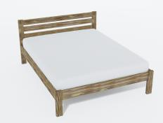 Кровать из массива Амелия