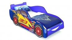 Кровать-машина «Маквин» (Синяя)