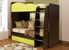 Кровать двухъярусная Юниор-2.1