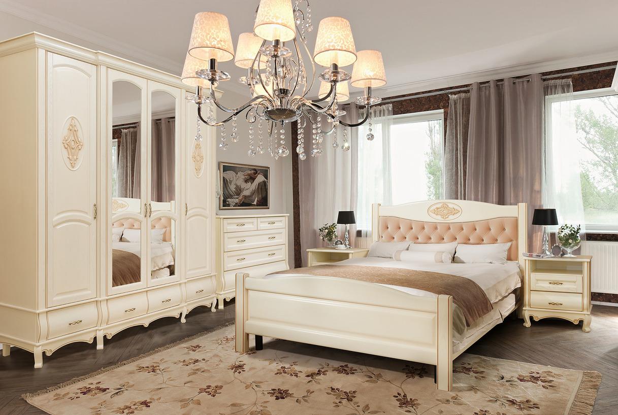 мебель для спальни в классическом стиле купить в санкт петербурге